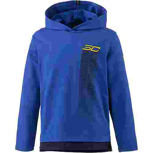 Under Armour Warm Up Hoody Hoodie Kinder royal