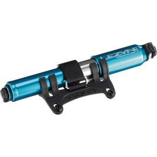 Lezyne Pressure drive Small Fahrradpumpe blau