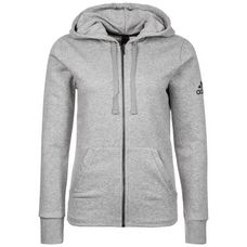 adidas Essentials Sweatjacke Damen medium grey heather