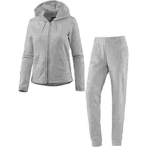 PUMA Graphic Trainingsanzug Damen light gray heather