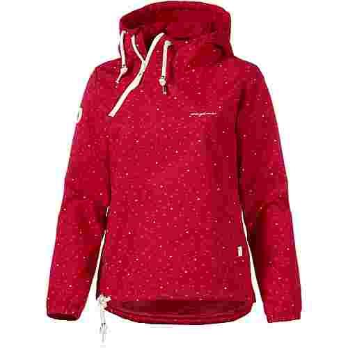 Mazine Windbreaker Damen red hearty