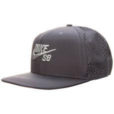 Nike SB Performance Trucker Cap grau / weiß