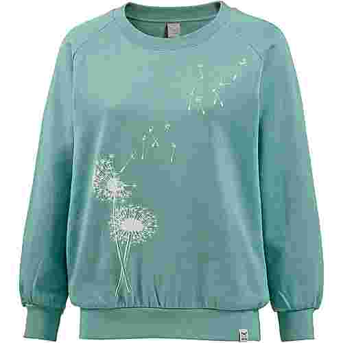 iriedaily Pusteblume Sweat Sweatshirt Damen beryl-green