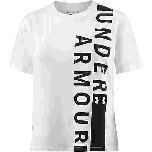 Under Armour Fashion T-Shirt Damen white-black