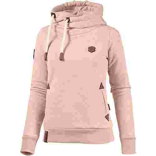 Naketano DARTH Hoodie Damen pastel-pink-melange