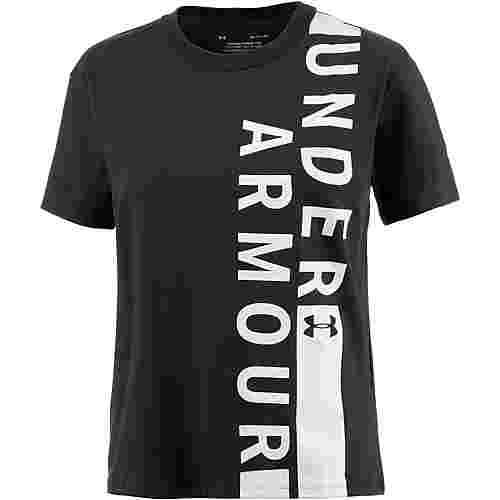 Under Armour Fashion T-Shirt Damen black-white