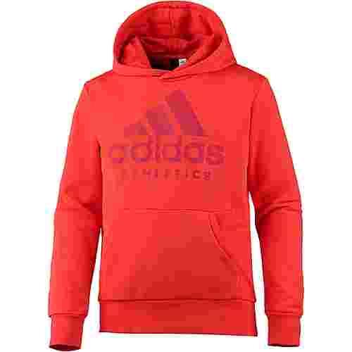 adidas SID Branded Hoodie Herren hi-res red