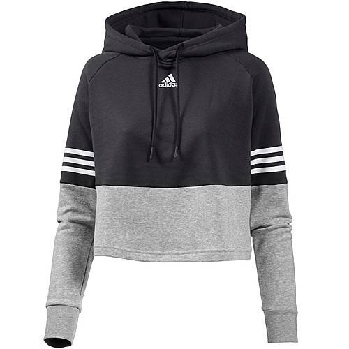 Adidas Hoodie Damen carbon im Online Shop von SportScheck kaufen