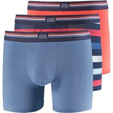 Jockey Boxer Herren orange-blau-weiß