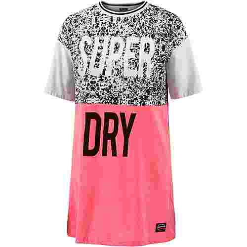 Superdry Jerseykleid Damen Fluro Pink