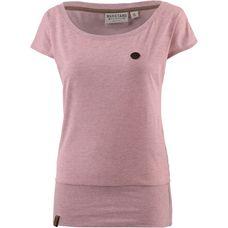 Naketano WOLLE T-Shirt Damen sm-pink-melange