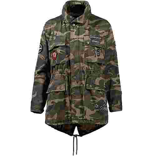 Superdry Parka Damen Punk Camo