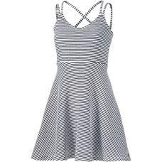 Superdry Trägerkleid Damen navy-white