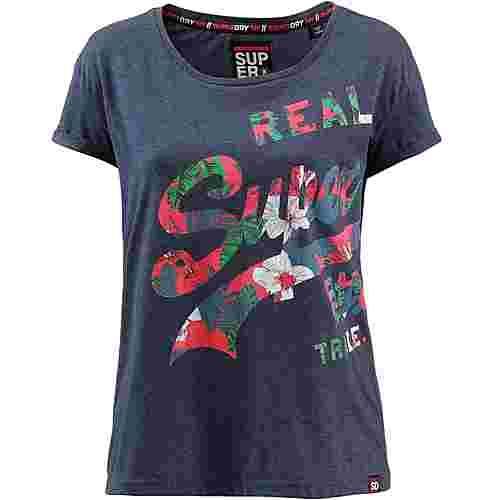 Superdry T-Shirt Damen Princedom Blue Marl