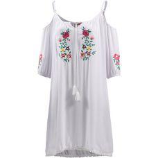 Mogul Trägerkleid Damen white