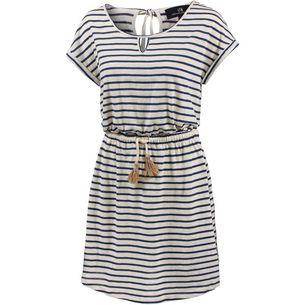 LTB Kurzarmkleid Damen navy and white stripe