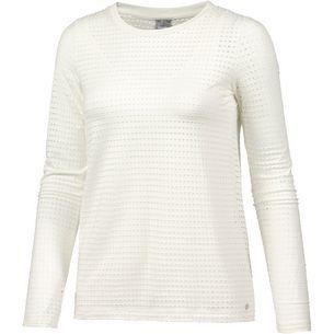 Bench 2-in-1 Langarmshirt Damen sow white