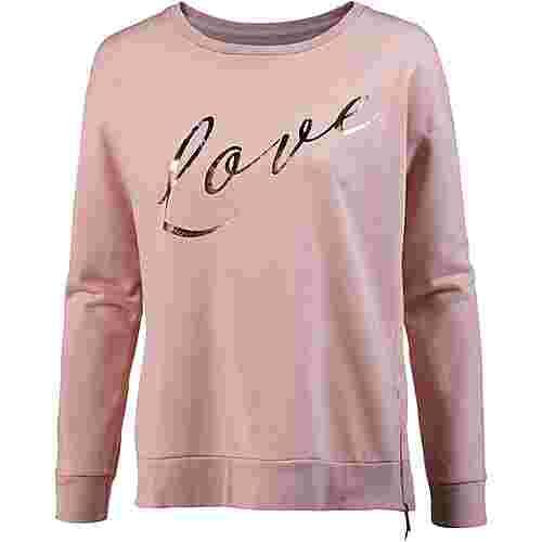 Herrlicher Ceri Sweatshirt Damen rose