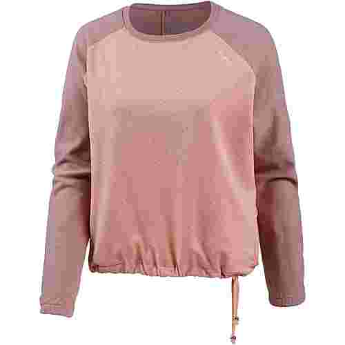 Mazine Sweatshirt Damen woodrose mel-peach-dots