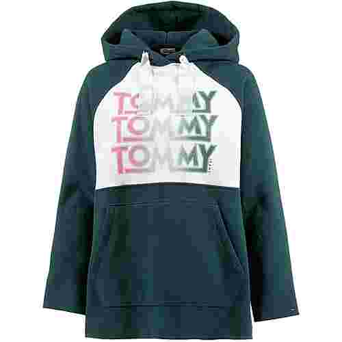 Tommy Jeans Hoodie Damen sea moss-bright white