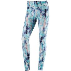 O'NEILL PRINT HIGH RISE Leggings Damen BLUE AOP W/ PINK-PURPLE