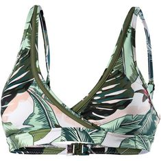 Seafolly Palm Beach Bikini Oberteil Damen moss