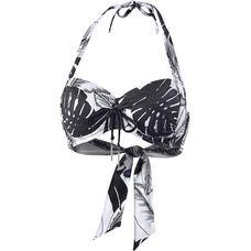Seafolly Palm Beach Bikini Oberteil Damen black