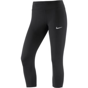Nike Power Essential Lauftights Damen black-black-reflective silver