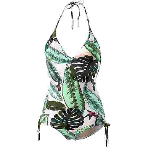Seafolly Palm Beach Badeanzug Damen moss