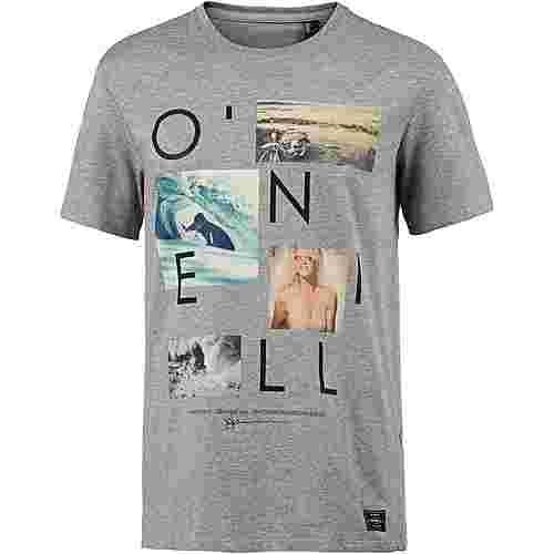 O'NEILL NEOS T-Shirt Herren silver melee