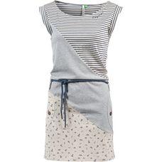 Ragwear TAG STRIPES ORGANIC Jerseykleid Damen beige