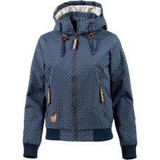 Ragwear NUGGIE A Regenjacke Damen denim-blue
