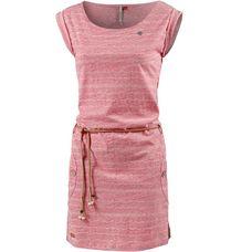 Ragwear TAG WAVES Jerseykleid Damen red-melange