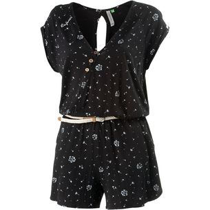 Ragwear EMANIE ORGANIC Jumpsuit Damen black