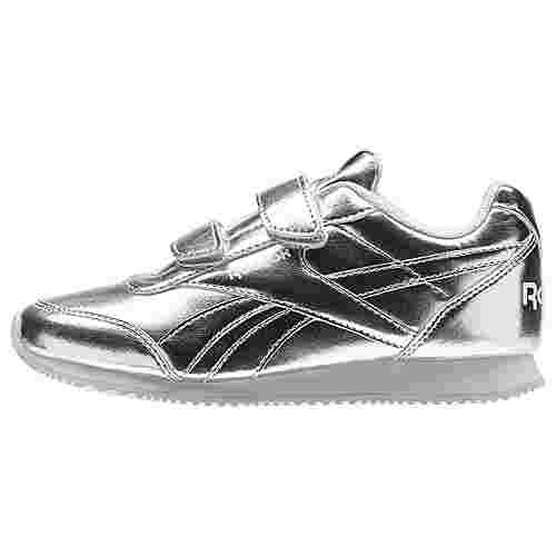 Reebok Royal Classic Jogger 2.0 2V Sneaker Kinder Silver Metallic/White