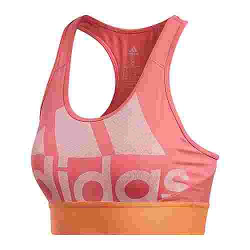 adidas Logo Sport-BH Sport-BH Damen Real Pink