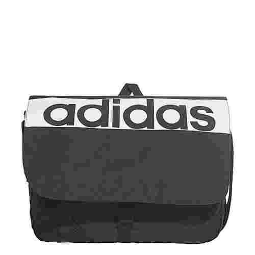 adidas LINEAR  Messenger-Tasche Sporttasche Herren Black/Black/White