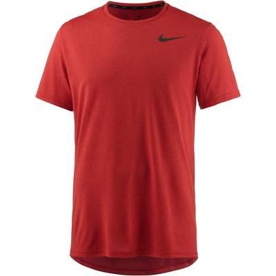 Nike Breathe Hyper Dry Funktionsshirt Herren hyper-crimson-habanero-red-black