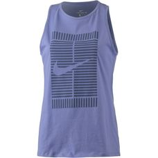 Nike Tennisshirt Damen pure slate-blue recall