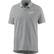 Nike NSW Poloshirt Herren dk-grey-heather-white