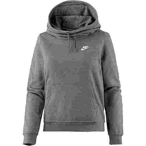 Nike Hoodie Damen charcoal heather-charcoal heather-dark grey
