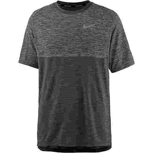 Nike Dry Medalist Laufshirt Herren wolf-greyblack-reflective-silv
