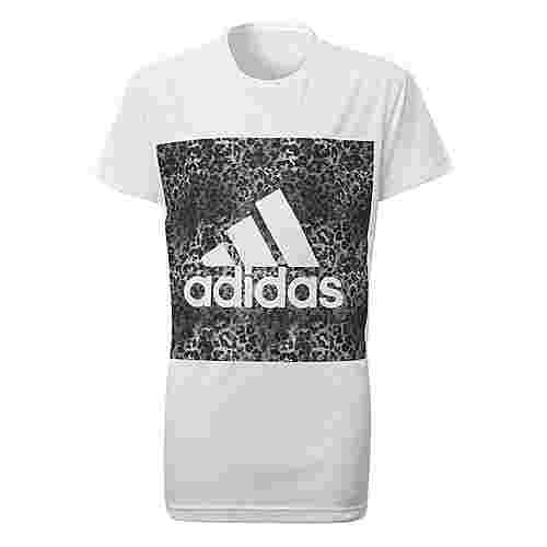 adidas Essentials Logo T-Shirt Kinder White/Black