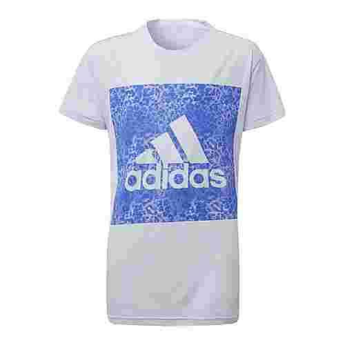 adidas Essentials Logo T-Shirt Kinder Aero Blue/Hi-Res Blue