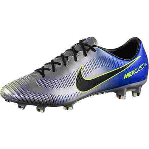 Nike MERCURIAL VELOCE III NJR FG Fußballschuhe Herren racer blue/black-chrome-volt-volt