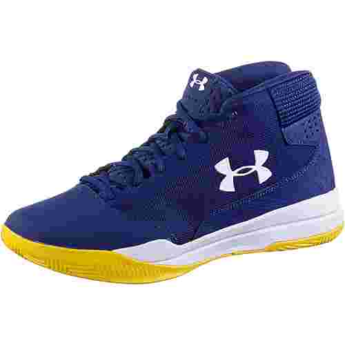 Under Armour Jet Mid Sneaker Herren formation blue-white