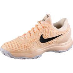 Nike AIR ZOOM CAGE 3 CLY Tennisschuhe Damen crimson tint
