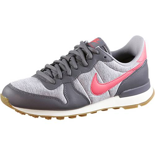 Nike INTERNATIONALIST Sneaker Damen gunsmoke-sea coral