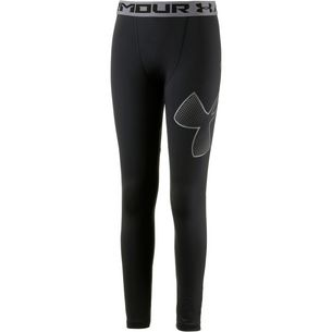Under Armour Logo Legging Lauftights Kinder black
