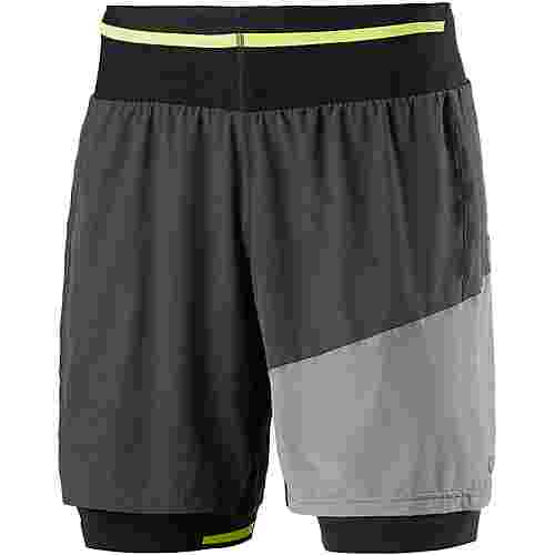 GORE® WEAR R7 2in1 Laufshorts Herren terry-grey-castor-grey